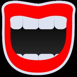 Bild av en leende mun