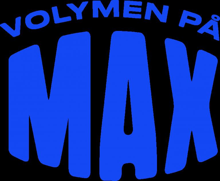 Volymen på max, logotyp