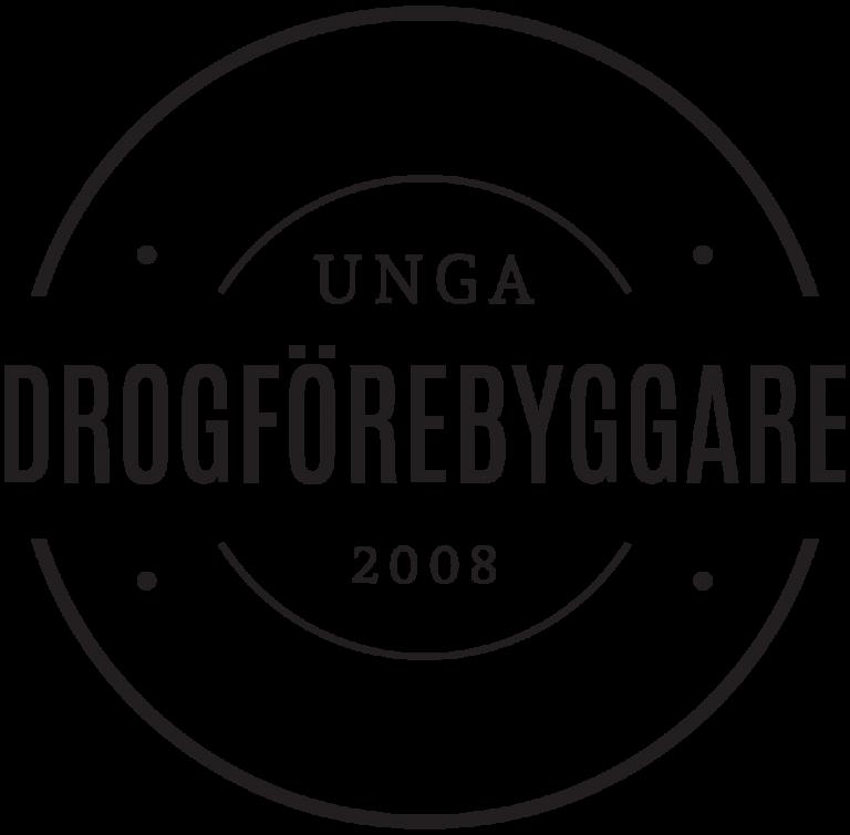 Unga Drogförebyggare logotyp