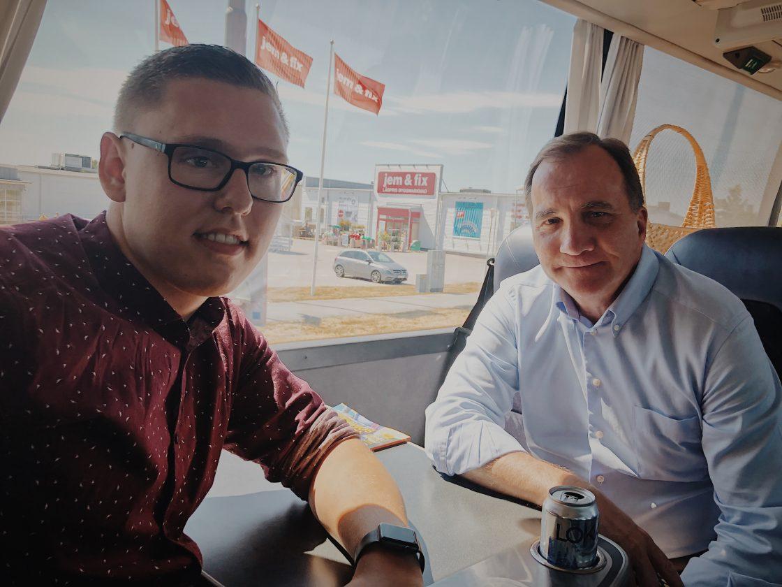Daniel Nestor och Stefan Löfven
