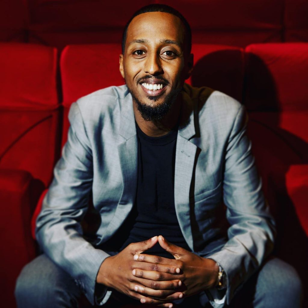 Porträtt på Khalid Mohammed